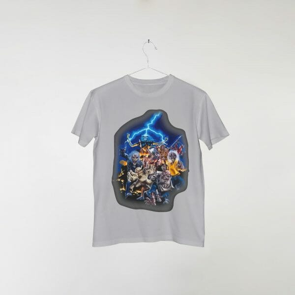 camiseta-cinza-iron-maiden-blue-blast