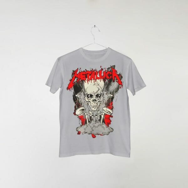 camiseta-cinza-metallica-starved