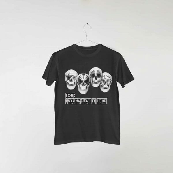 camiseta-preta-kiss-hear-it-loud