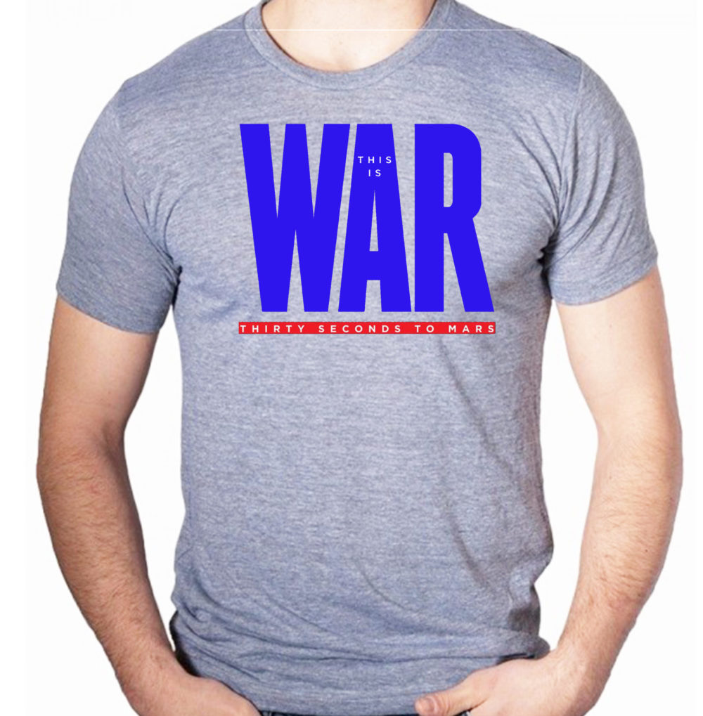 camiseta-algodao-cinza-30-seconds-to-mars-this-is-war